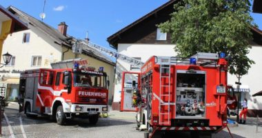 06.07.2019 – B3 – Brand Dachstuhl Bodenmais