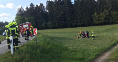 Motorradunfall zwischen Fahrnbach und Reinhartsmais