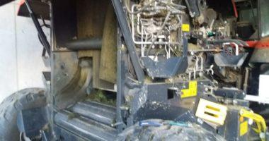 THL 3: Person in landwirtschaftliche Maschine eingeklemmt