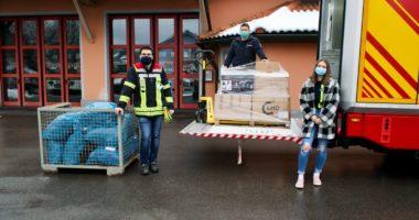Erdbebenhilfe der Feuerwehren im Landkreis Regen