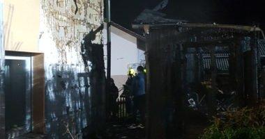 B2 -> B3: Brand einer Hütte in der Silvesternacht