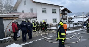 Brand im Gebäude – Keller B3 – Patersdorf
