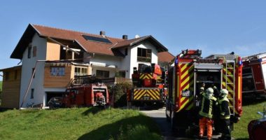 B3 Brand im Gebäude – Wohnungsbrand Euhmannsdorf
